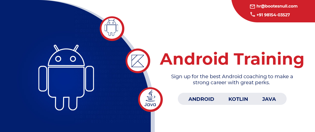 Android Training in Chandigarh Mohali
