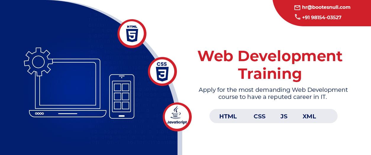 Web Development Course in Chandigarh Mohali